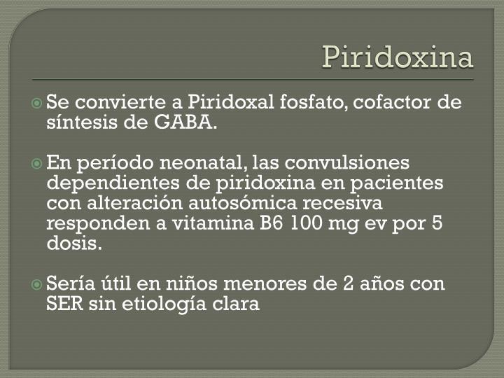 Piridoxina