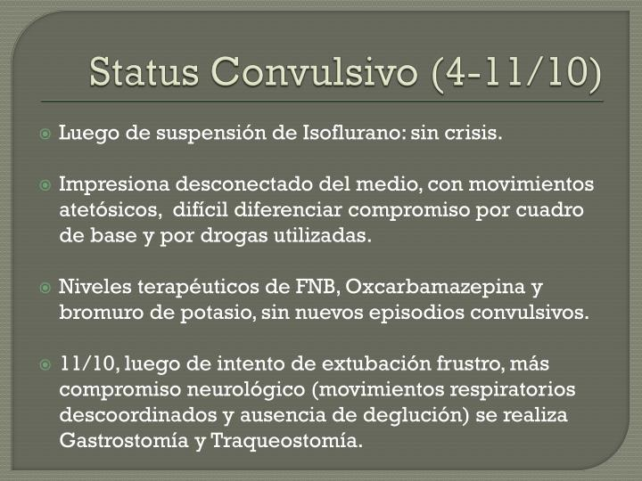 Status Convulsivo (4-11/10)
