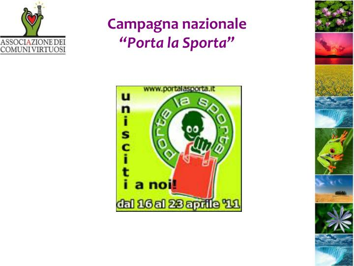 Campagna nazionale