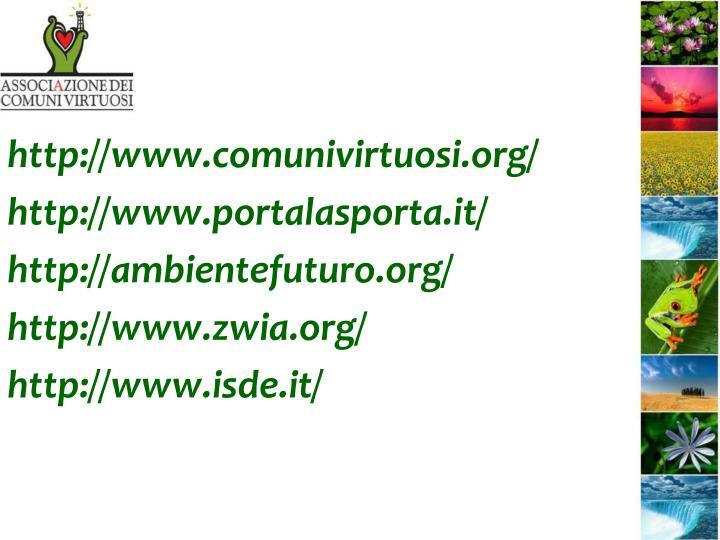 http://www.comunivirtuosi.org/