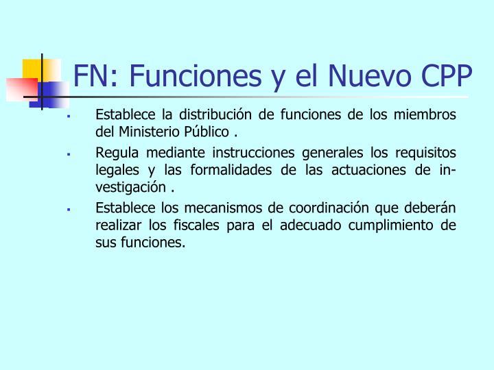 FN: Funciones y el Nuevo CPP