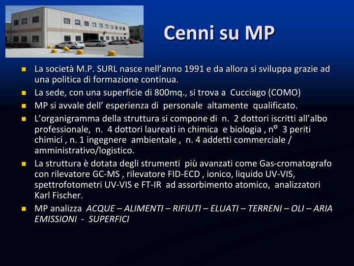 Cenni su MP