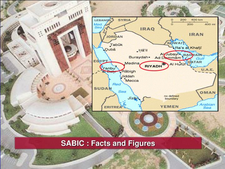 SABIC : Facts and Figures