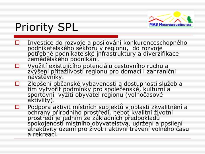 Priority SPL