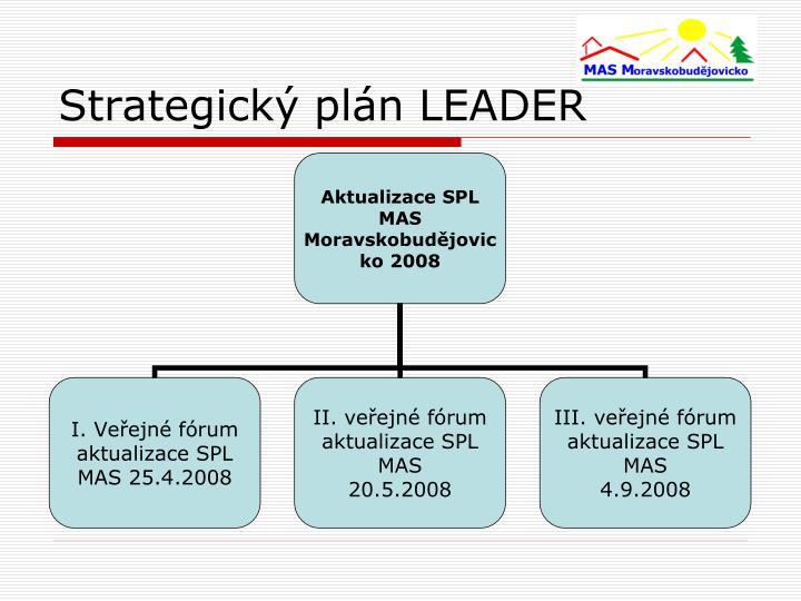 Strategický plán LEADER