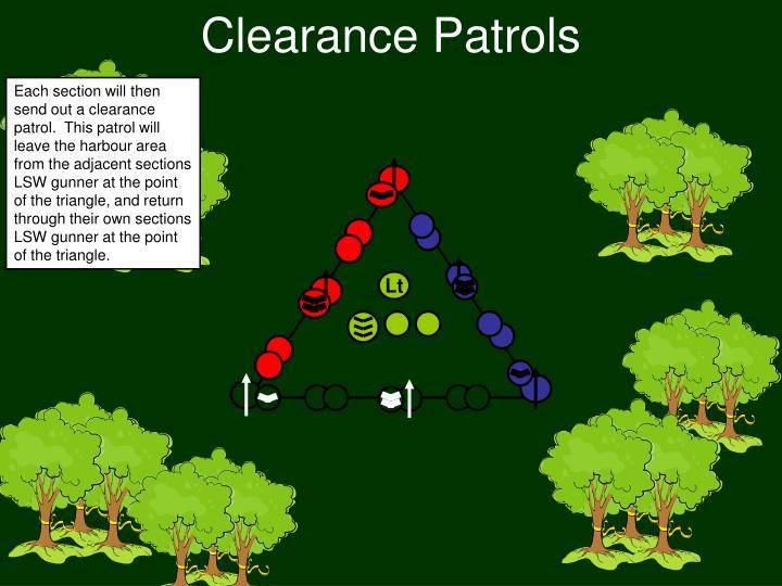 Clearance Patrols