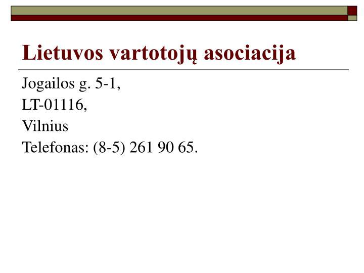 Lietuvos vartotojų asociacija