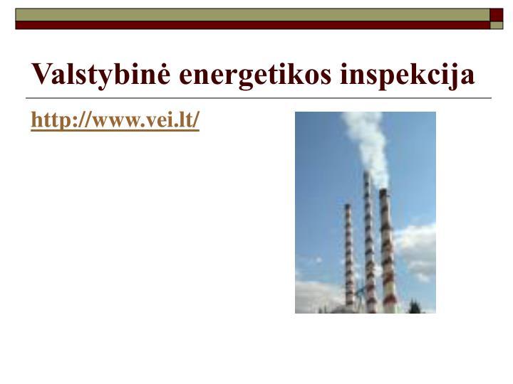 Valstybinė energetikos inspekcija