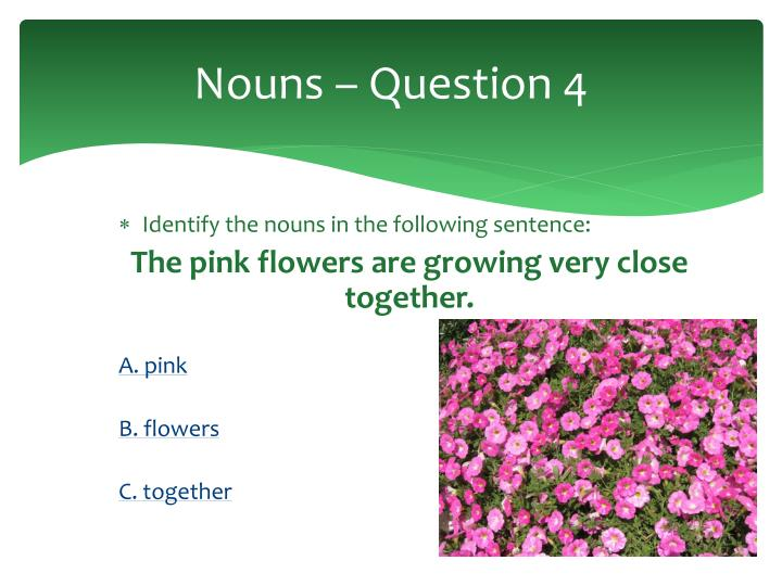 Nouns – Question 4