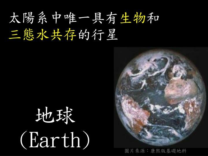 圖片來源:康熙版基礎地科