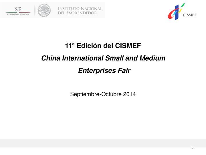 11ª Edición del CISMEF