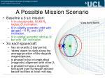 a possible mission scenario1