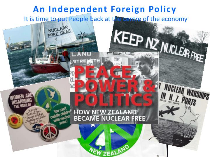 An Independent Foreign Policy