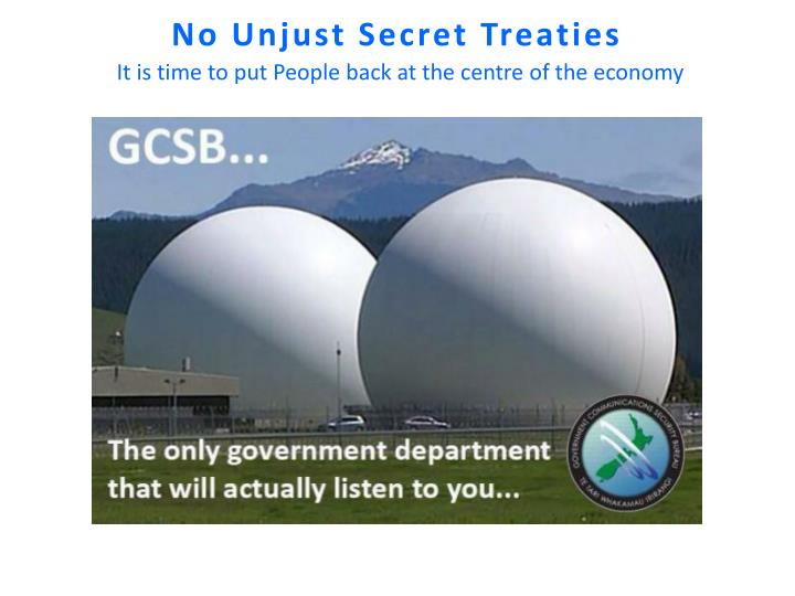 No Unjust Secret Treaties