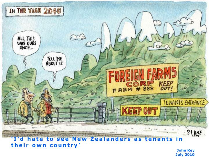 'I'd hate to see New Zealanders as tenants in their own country'