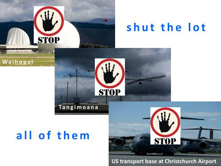 shut the lot