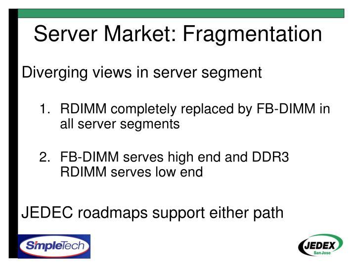 Server Market: Fragmentation