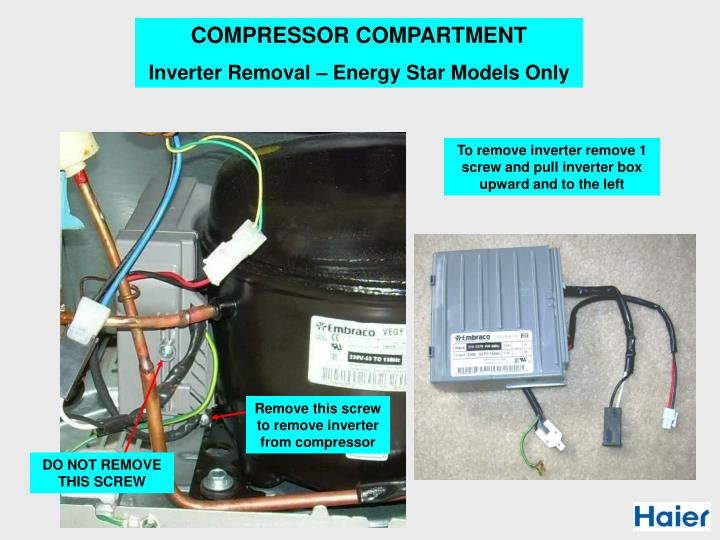 COMPRESSOR COMPARTMENT