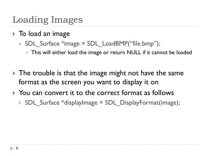 Loading Images