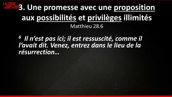 3. Une promesse avec une