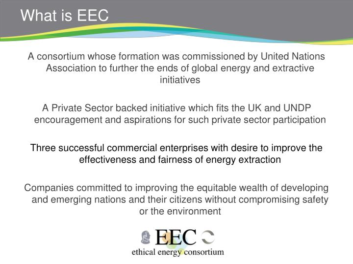 What is EEC