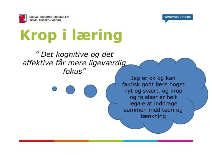 Krop i læring