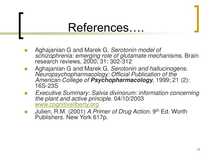 References….