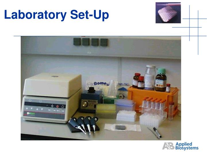 Laboratory Set-Up