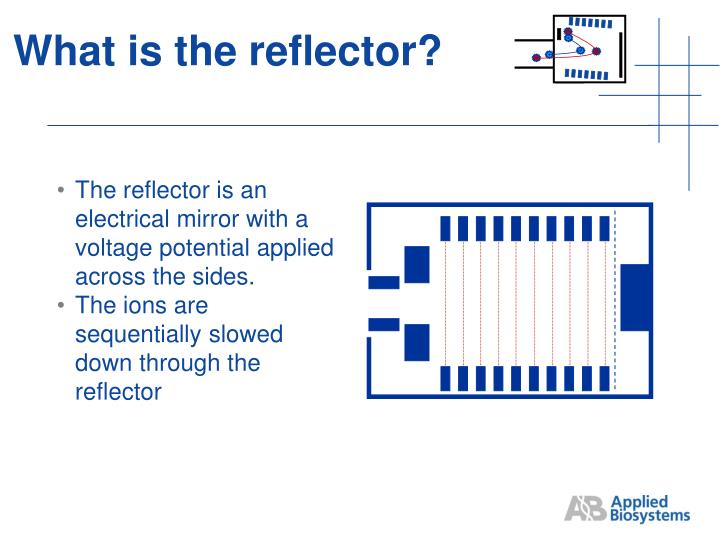 What is the reflector?