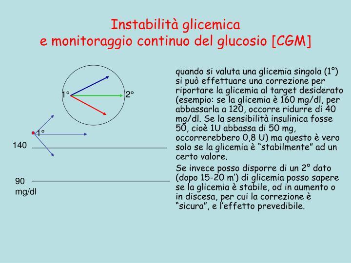 Instabilità glicemica
