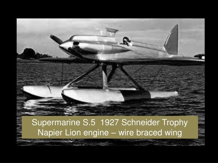 Supermarine S.5  1927 Schneider Trophy