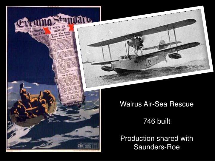 Walrus Air-Sea Rescue