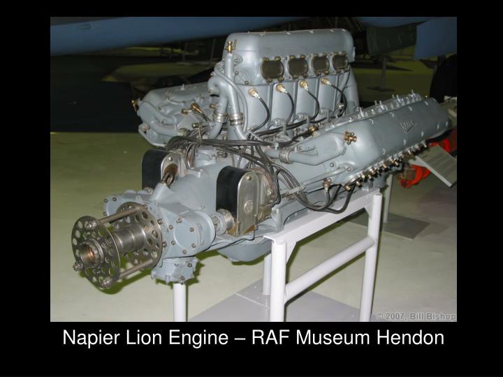 Napier Lion Engine – RAF Museum Hendon