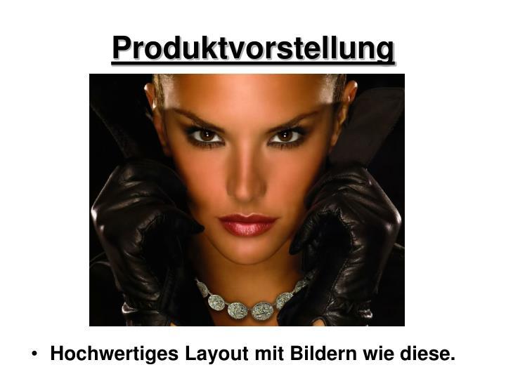 Produktvorstellung