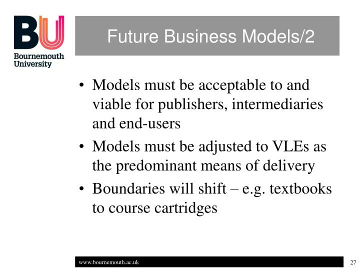 Future Business Models/2