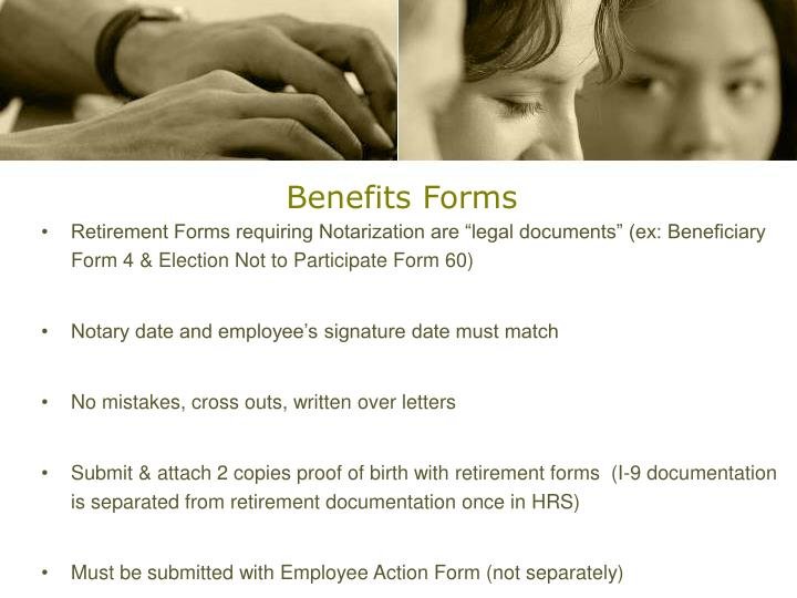 Benefits Forms