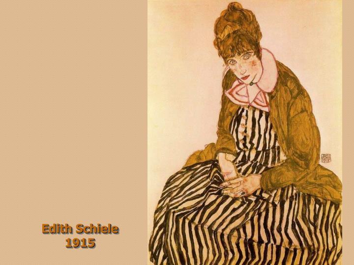 Edith Schiele