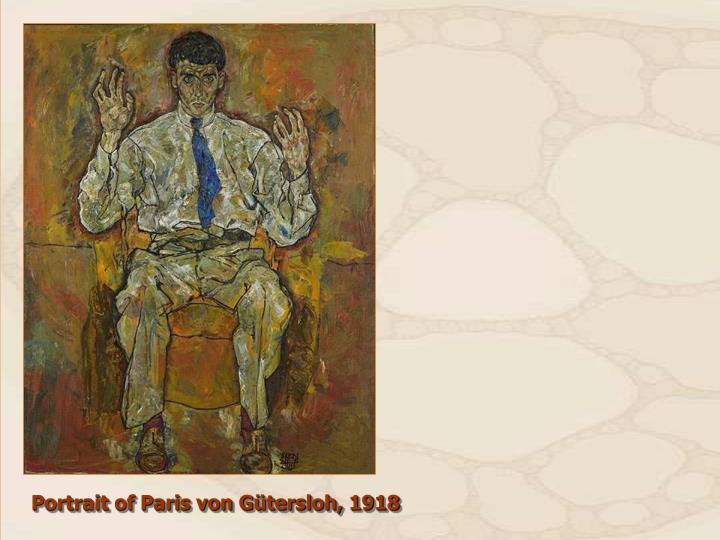 Portrait of Paris von Gütersloh, 1918