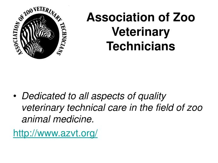 Association of Zoo Veterinary Technicians