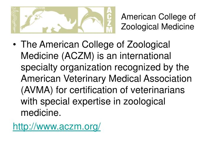 American College of Zoological Medicine