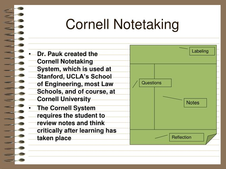 Cornell notetaking1