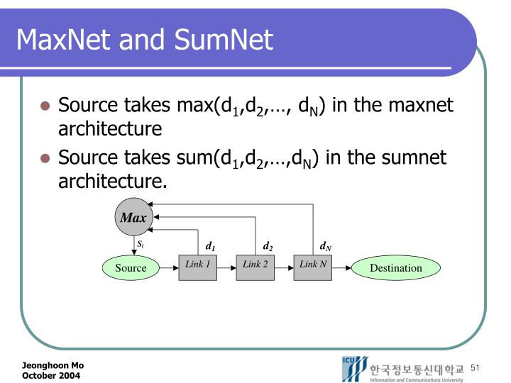 MaxNet and SumNet