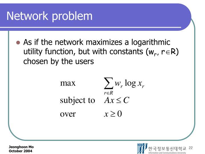 Network problem