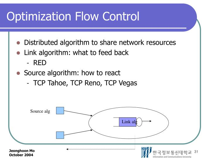 Optimization Flow Control