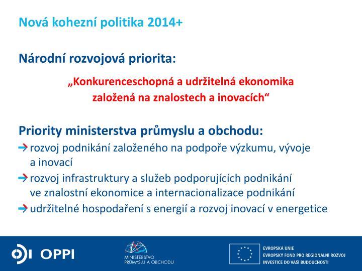 Nová kohezní politika 2014+