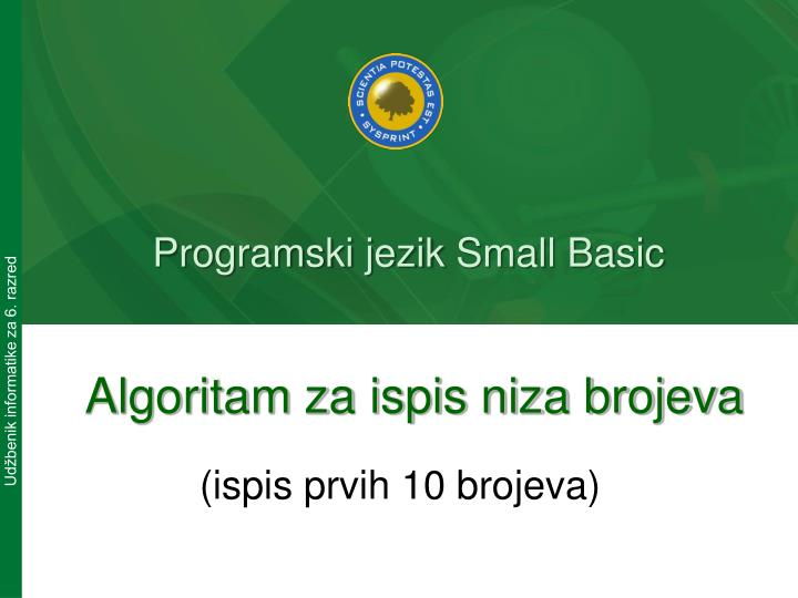 Programski jezik small basic