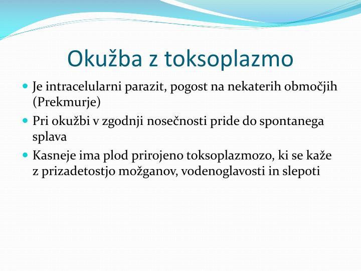 Okužba z toksoplazmo