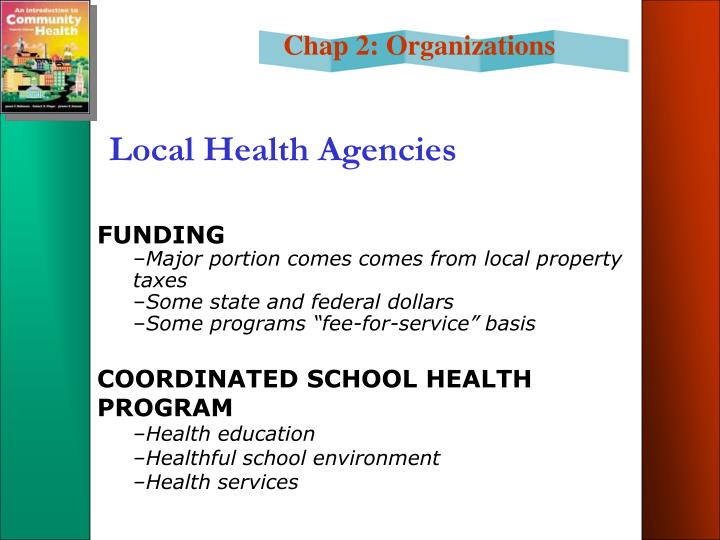 Local Health Agencies