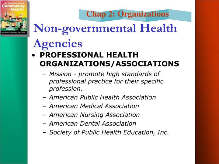 Non-governmental Health Agencies