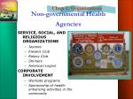 non governmental health agencies3